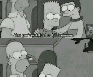 bart, the simpsons, and serials image