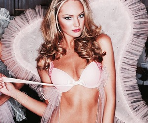 victorias secret and candice swanepoel image
