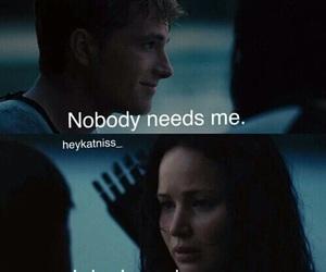 peeta, love, and katniss image