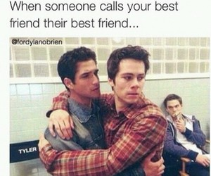 bff, friendship, and teen wolf image