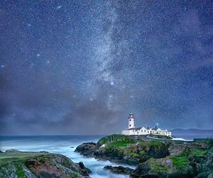 donegal, ireland, and lighthouse image