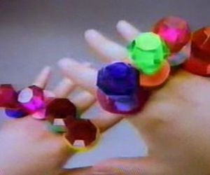 ring pops, candy, and hands image