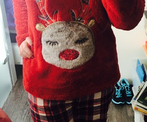 advent, pjs, and animal image
