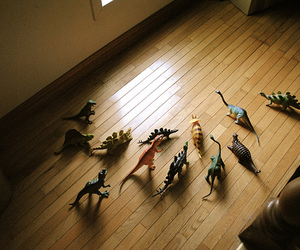 dinosaurs and toys image