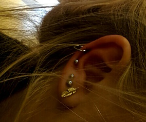 ear, helix, and jewelry image