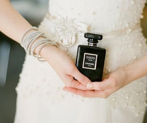 beauty, bridal, and chanel image