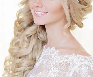 beauty, hairstyle, and long hair image