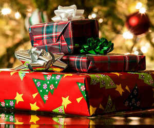 christmas, gift, and presents image