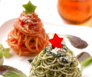 december, food, and spaghetti image