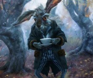 alice, rabbit, and alice in wonderland image