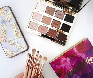 Brushes, eyeshadow, and in bloom image