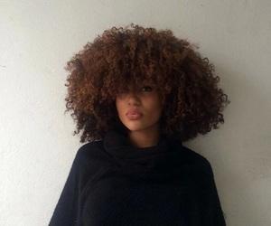 big curly hair and loos image