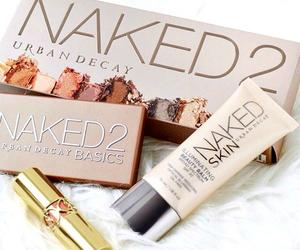 beauty, lipstick, and eyeshadow image