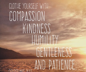 bible, compassion, and gentleness image