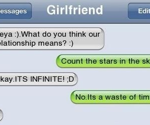 funny, text, and girlfriend image