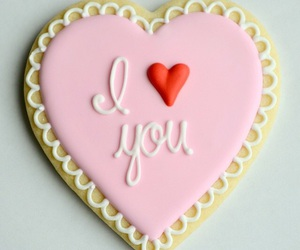 cookie, decoration, and heart image