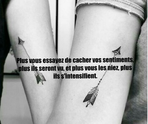 black and white, sentiments, and le saviez vous image