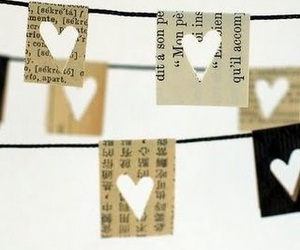 heart, hearts, and Paper image