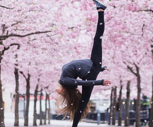 equilibre, gymnastic, and hiver image