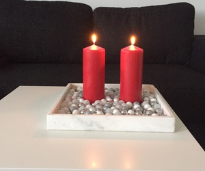 candles, lovely, and winter image