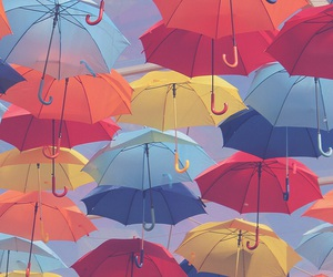 wallpaper, umbrella, and background image
