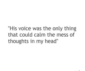 quote, voice, and thoughts image