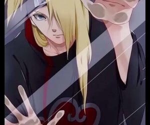 deidara, akatsuki, and anime image