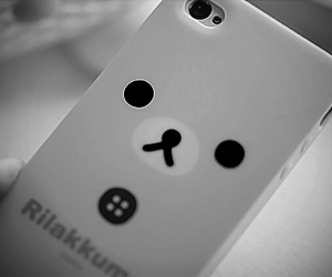 iphone, cute, and bear image