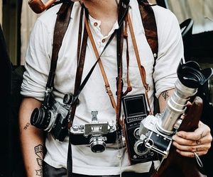 cameras, photography, and hipster image