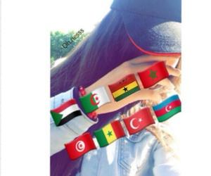 senegal, ghana, and algerie image