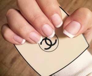 chanel, french, and manicure image