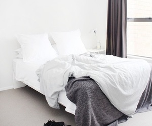 bed, bedroom, and house image