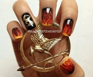 cool, fire, and nails image