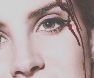 lana del rey and blood image