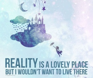 quote, reality, and Dream image