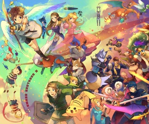 kirby, pokemon, and zelda image