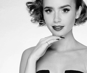lily collins, pretty, and love rosie image