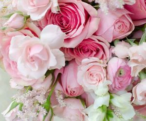 bouquet, flora, and flowers image