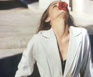 emma watson, flowers, and actress image