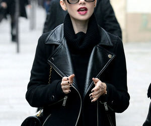 fashion, lily collins, and style image