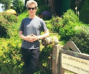 the hobbit, peter capaldi, and 12th doctor image