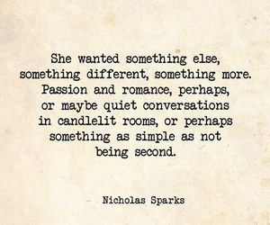 qoute, second, and nicolas sparks image