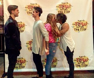 kisses, jc caylen, and kian and jc image