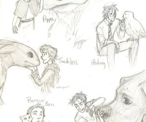 deviantart, toothless, and percy jackson image