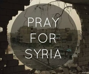 syria, pray, and prayer image