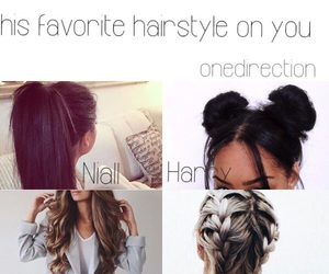 hair, hairstyle, and 1d image