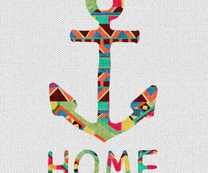 home, anchor, and colors image