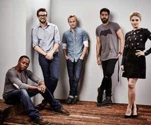 izombie, cast, and rose mclver image