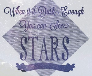purple, quote, and stars image