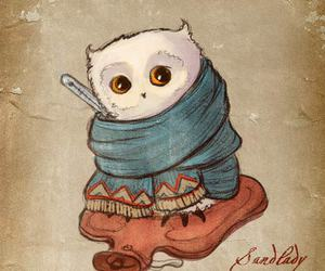 art and ill owl image